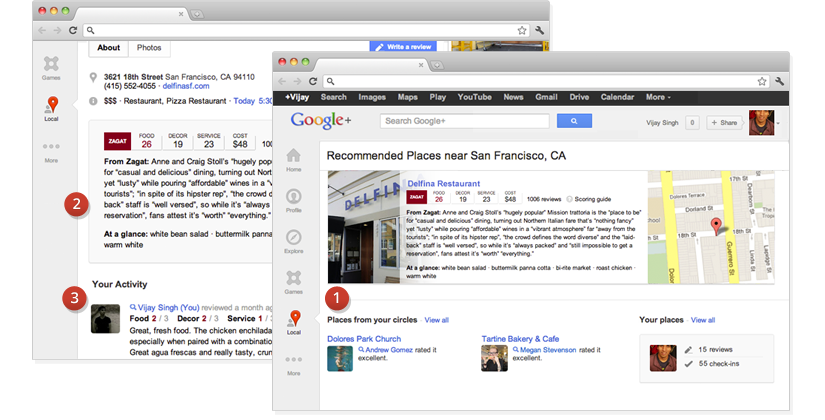 Google Places moves to Google+ Local
